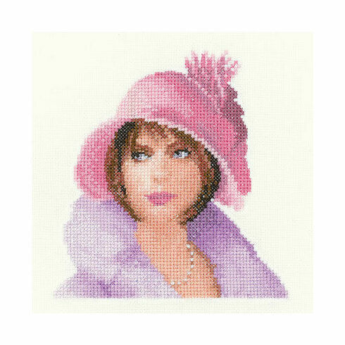 Heritage Crafts Harriet In Miniature Cross Stitch Kit