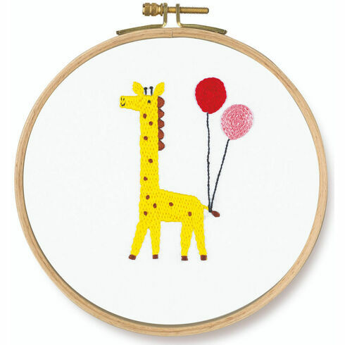 Which One? Giraffe Embroidery Kit