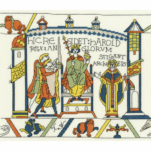 Bayeux Tapestry: The Coronation Cross Stitch Kit