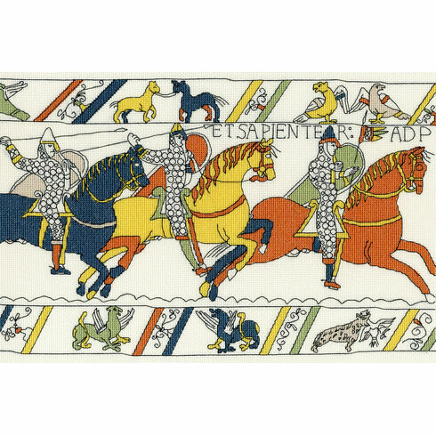 Bayeux Tapestry: The Cavalry Cross Stitch Kit