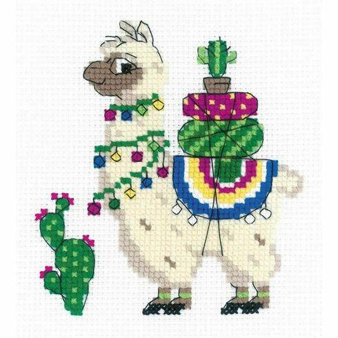 Llama Cross Stitch Kit
