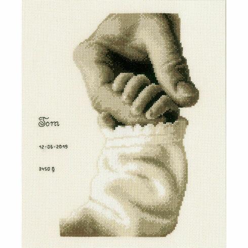 Baby Love Birth Sampler Cross Stitch Kit