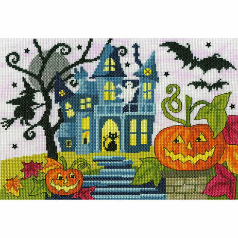 Spooky! Halloween Cross Stitch Kit