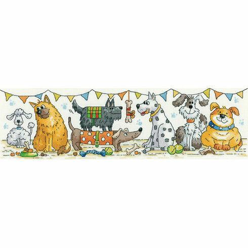 Dog Show Cross Stitch Kit