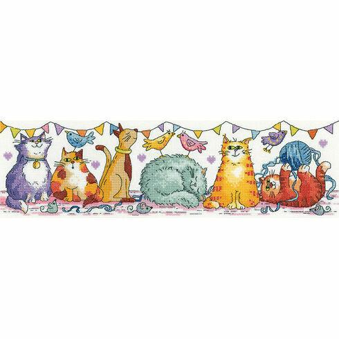 Cat Show Cross Stitch Kit