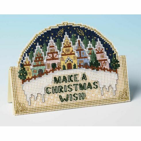 Christmas Wish 3D Cross Stitch Card Kit