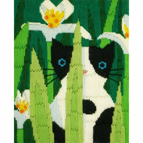 Felix The Cat Long Stitch Kit