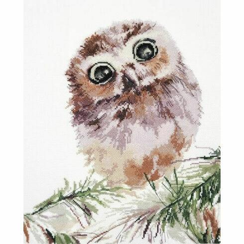 Wonderment Owl Cross Stitch Kit