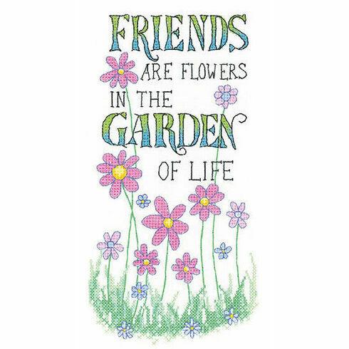 The Garden Of Life Cross Stitch Kit
