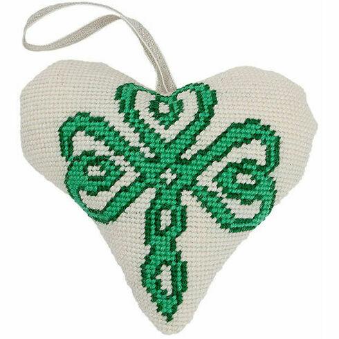 Celtic Lavender Heart Tapestry Kit