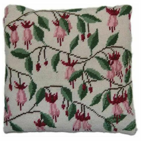 Fuschia Herb Pillow Tapestry Kit