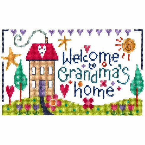 Grandma's Home Cross Stitch Kit