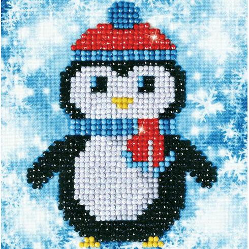 Christmas Penguin Diamond Dotz Kit