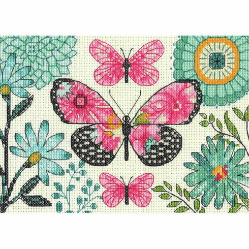 Butterfly Dream Cross Stitch Kit
