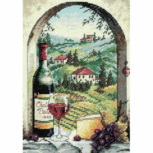 Dreaming Of Tuscany Cross Stitch Kit