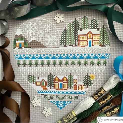 Heart Of Winter Cross Stitch Kit