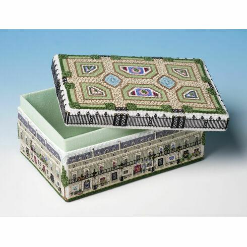 Kensington Square Box 3D Cross Stitch Kit