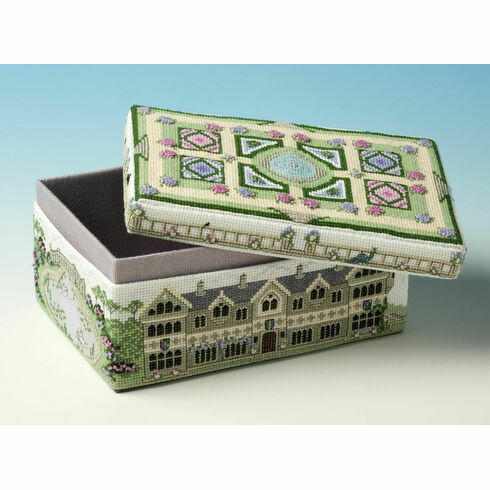 Country House Box 3D Cross Stitch Kit