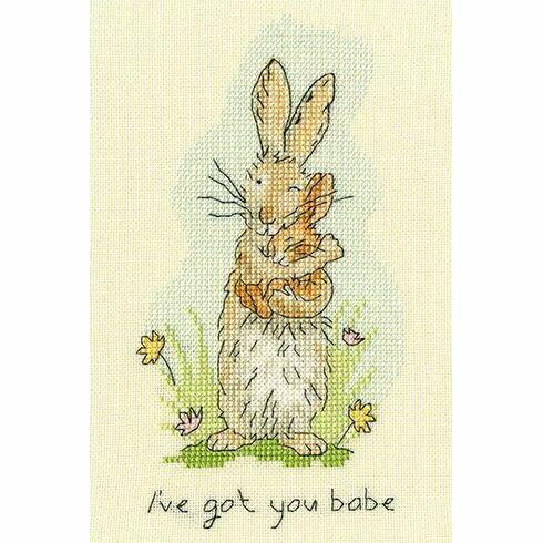 I've Got You Babe Cross Stitch Kit