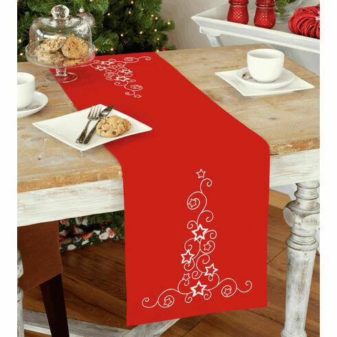 Stars & Swirls Embroidery Table Runner Kit
