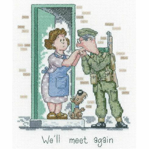 We'll Meet Again Cross Stitch Kit