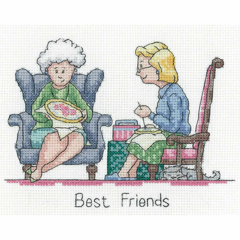 Best Friends Cross Stitch Kit