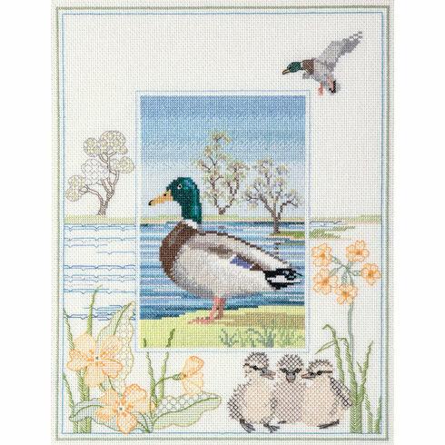 Wildlife - Mallard Cross Stitch Kit
