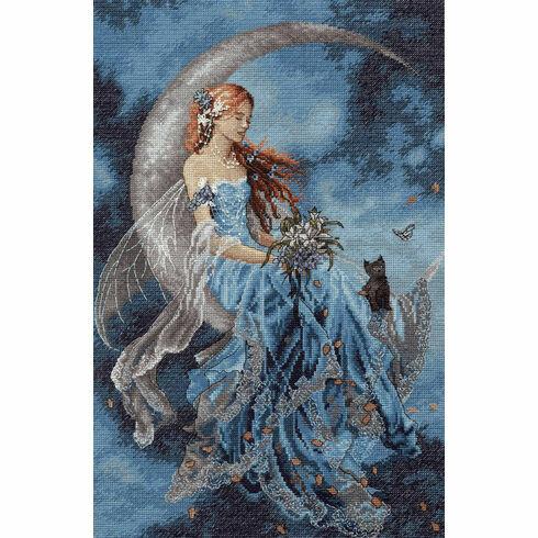Wind Moon Fairy Cross Stitch Kit