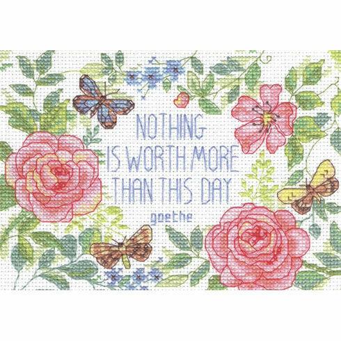 This Day Verse Cross Stitch Kit