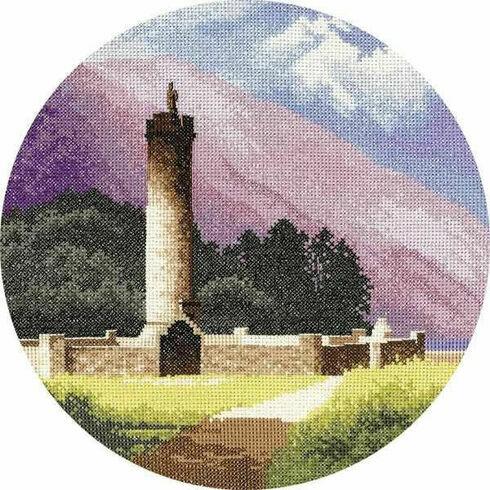 Bonnie Prince Charlie's Monument Cross Stitch Kit