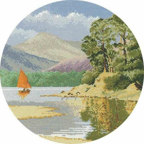 Calm Waters Cross Stitch Kit