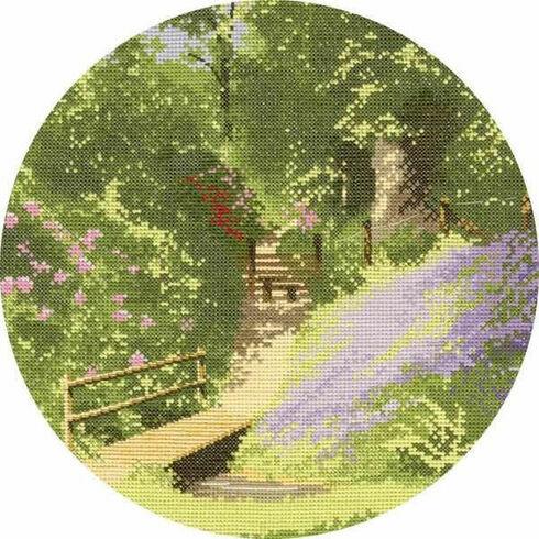 Woodland Walk Cross Stitch Kit