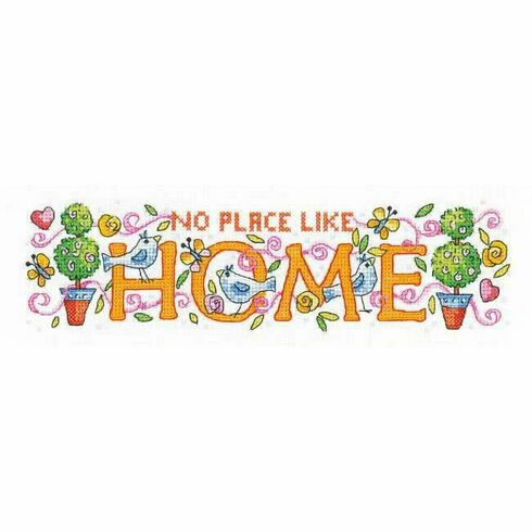 No Place Like Home Cross Stitch Kit by Karen Carter