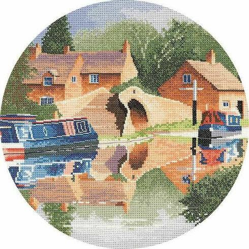 Canal Reflections Cross Stitch Kit