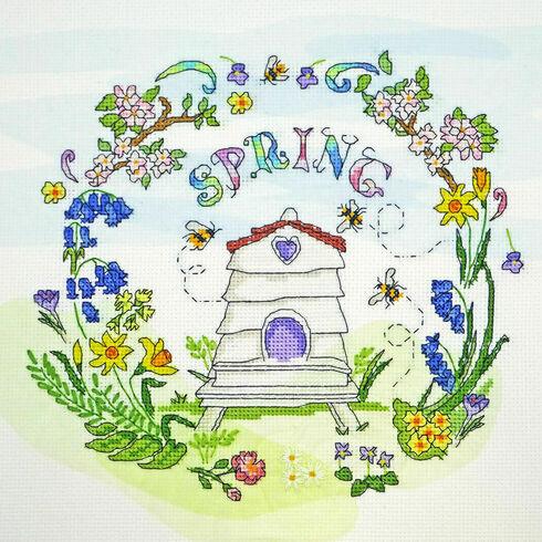 Spring Time Cross Stitch Kit