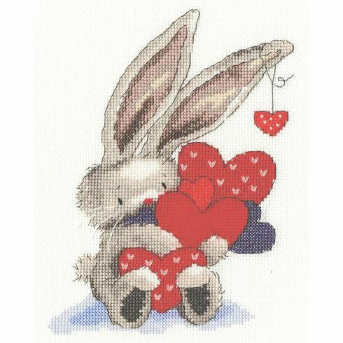 Bebunni Whole Lot Of Love Cross Stitch Kit