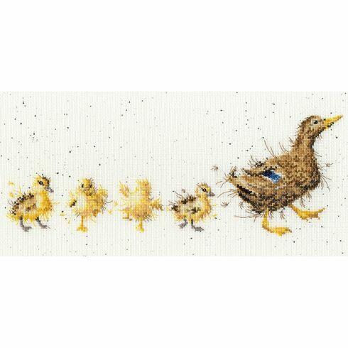 Mother Duck Cross Stitch Kit