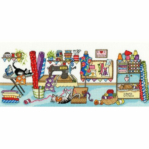Sewing Fun Cross Stitch Kit