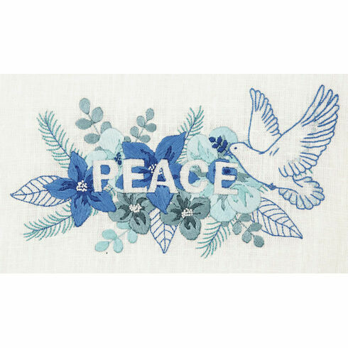 Peace Embroidery Kit