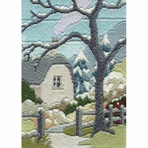 Winter Garden Long Stitch Kit