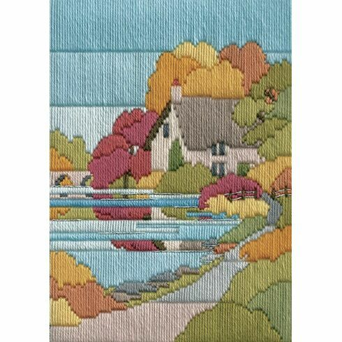Autumn Walk Long Stitch Kit