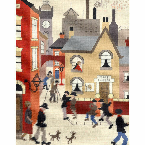 Lowry The Cheese Tapestry Kit