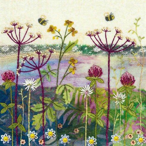 Clover Meadow Embroidery Kit