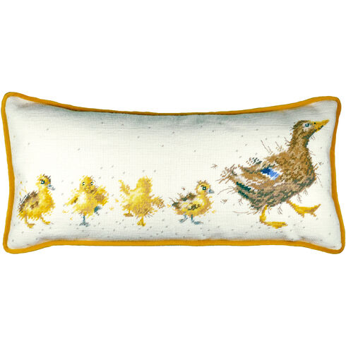 Mother Duck Tapestry Cushion Panel Kit