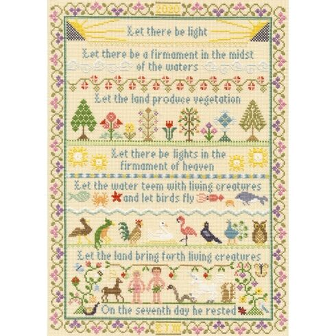 Let There Be Light Cross Stitch Kit