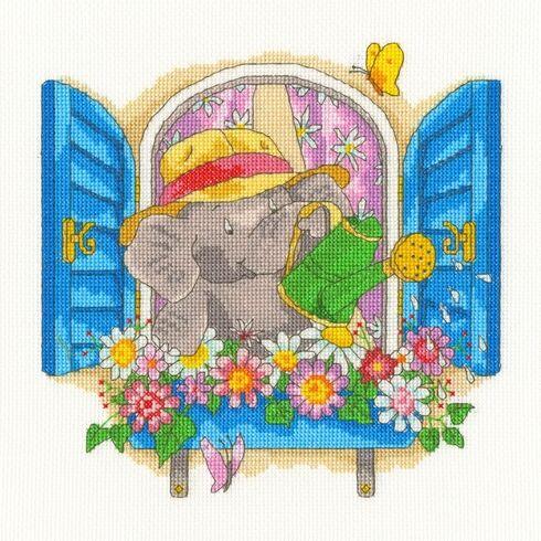 Bloomin' Lovelly Cross Stitch Kit