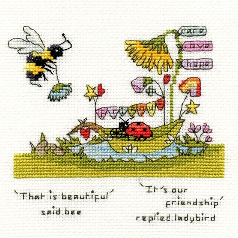 Beautiful Friendship Cross Stitch Kit