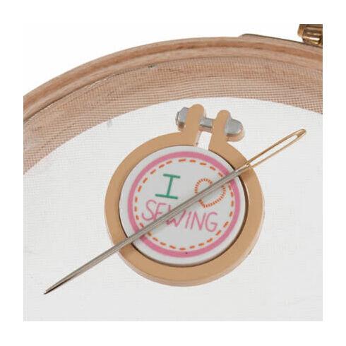 I Love Sewing Magnetic Needle Minder