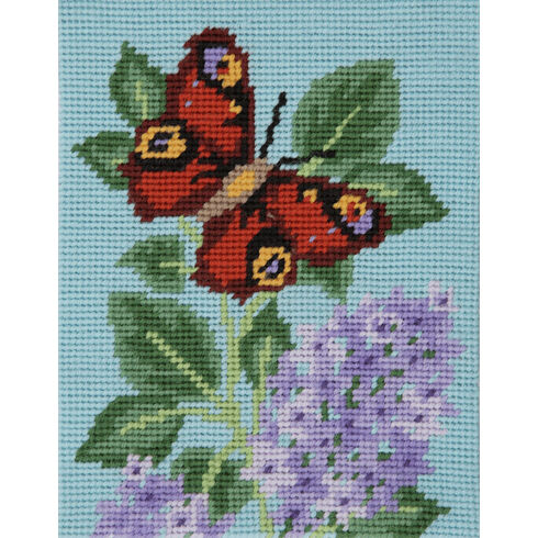 Peacock Butterfly Beginners Tapestry Kit