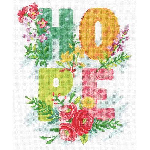 Hope Cross Stitch Kit